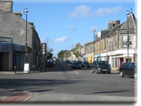 Loanhead a view of Clerk Street